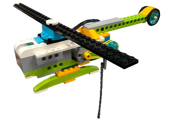 レゴブロックで作ったロボット