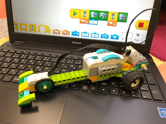 プログラミング教室の体験授業で作るレースカー